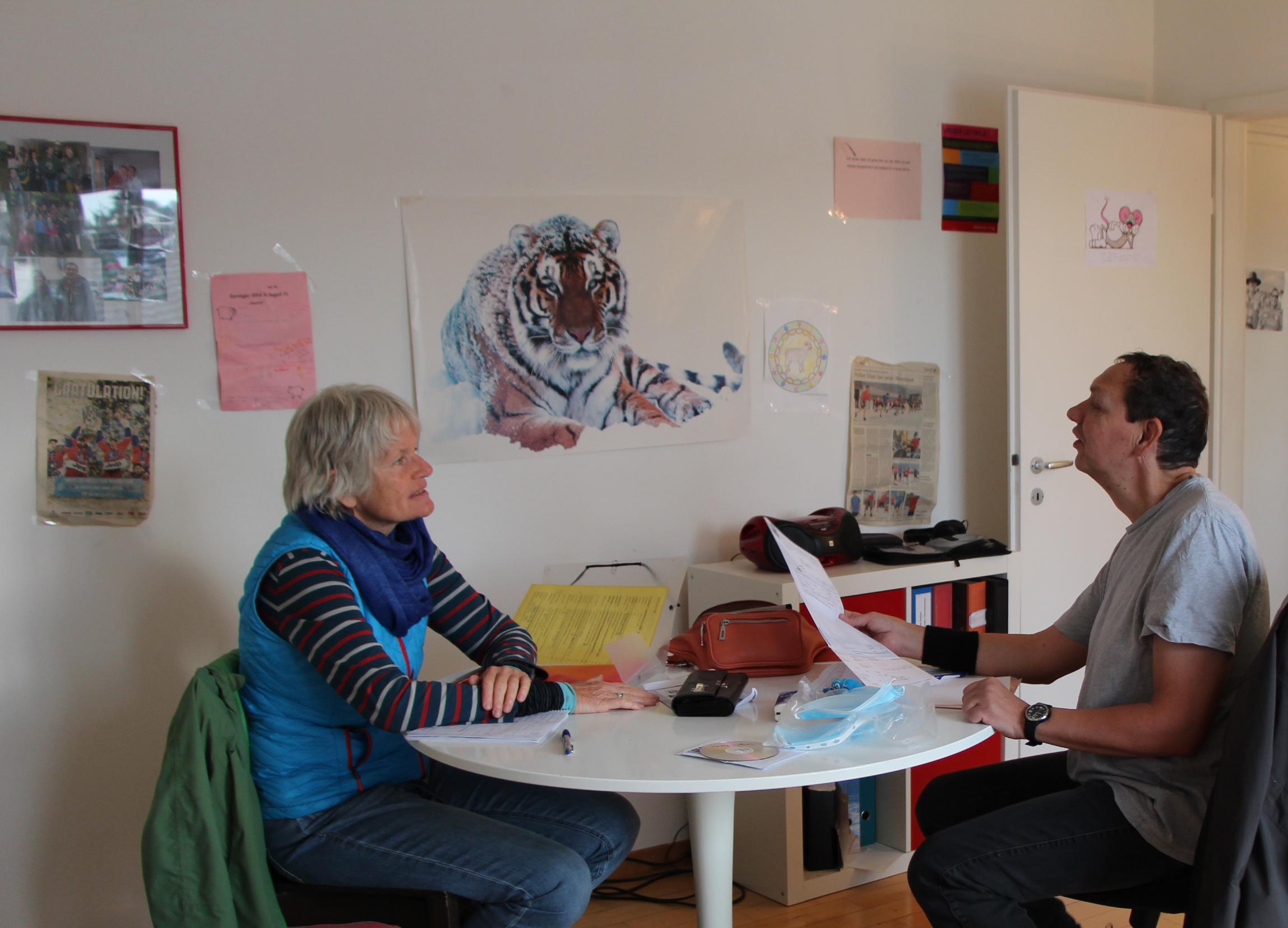 In der Martin Stiftung können Menschen mit einer kognitiven Beeinträchtigung auch alleine wohnen, werden aber begleitet.