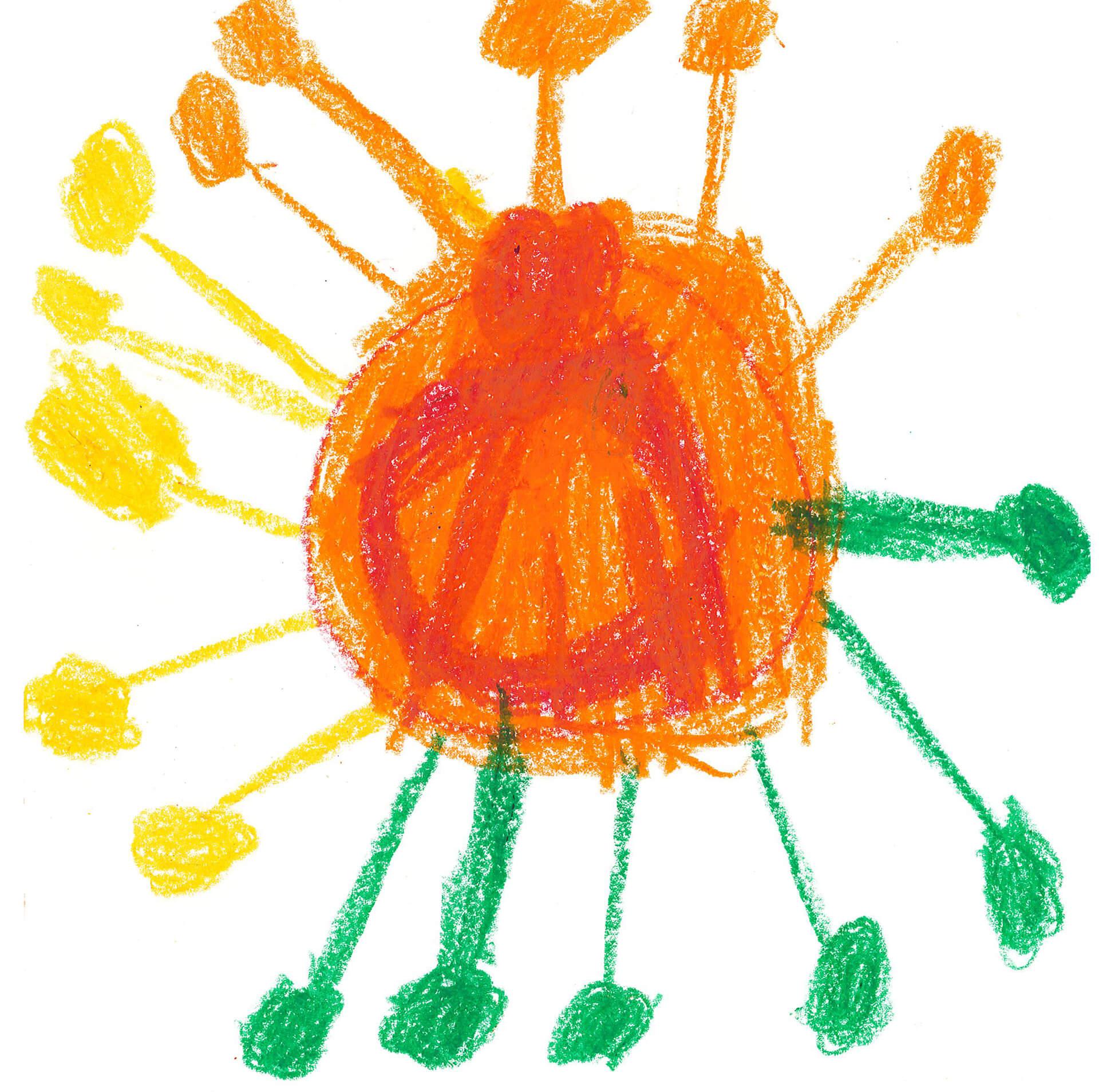 Orange, gelb, grün: Das Corona-Virus hat viele verschiedene Seiten.